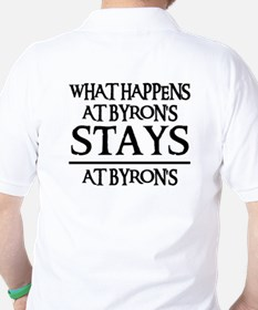 STAYS AT BYRON'S Golf Shirt