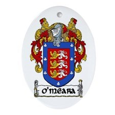 O'Meara Coat of Arms Keepsake Ornament