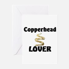 Copperhead Lover Greeting Cards (Pk of 10)