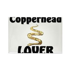 Copperhead Lover Rectangle Magnet