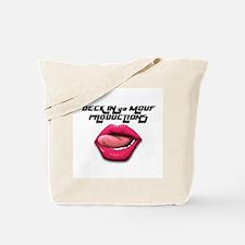 Cute Blowjob suck oral sex Tote Bag