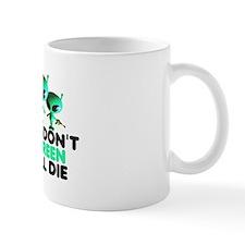 Go Green slogan Mug