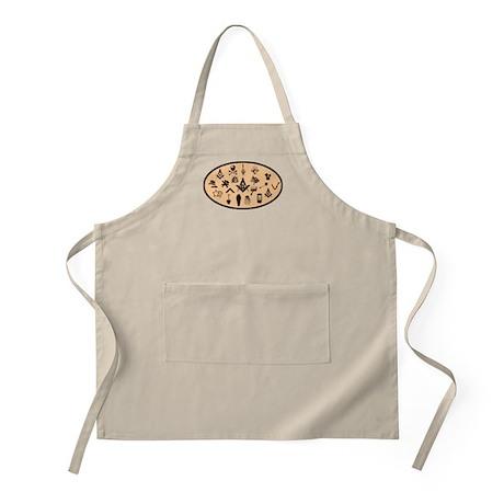 Master Mason Emblems BBQ Apron