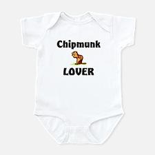 Chipmunk Lover Infant Bodysuit