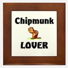 Chipmunk Lover Framed Tile