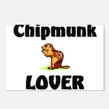 Chipmunk Lover Postcards (Package of 8)