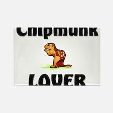 Chipmunk Lover Rectangle Magnet