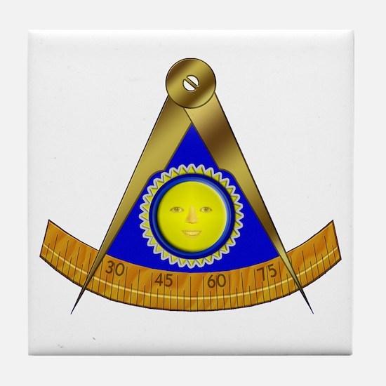 Past Master Tile Coaster