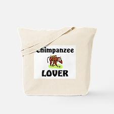 Chimpanzee Lover Tote Bag