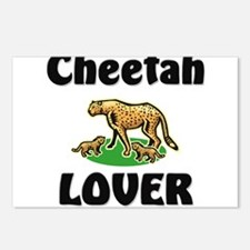 Cheetah Lover Postcards (Package of 8)
