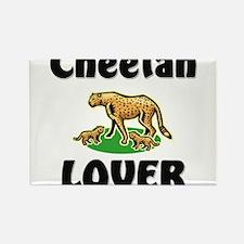 Cheetah Lover Rectangle Magnet
