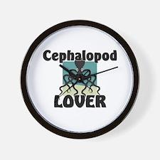Cephalopod Lover Wall Clock