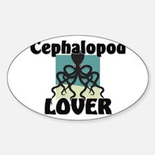 Cephalopod Lover Oval Decal