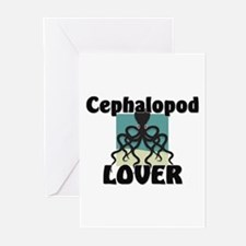 Cephalopod Lover Greeting Cards (Pk of 10)