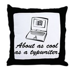 Cool As Throw Pillow