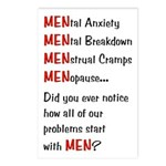 Men Problems - Postcards (Package of 8)