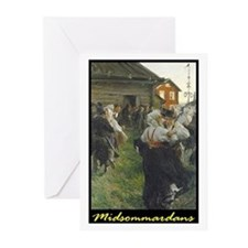 Midsommardans Greeting Cards (Pk of 10)