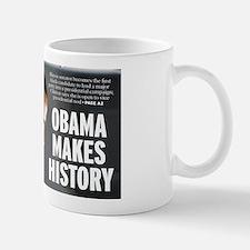 Obama Makes History Mug