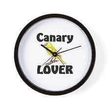Canary Lover Wall Clock