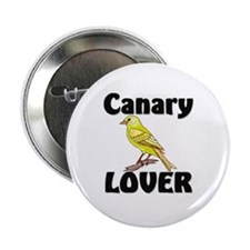 """Canary Lover 2.25"""" Button"""