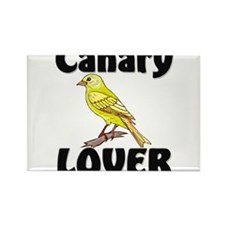 Canary Lover Rectangle Magnet