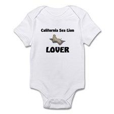 California Sea Lion Lover Infant Bodysuit