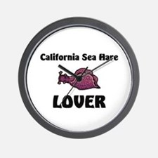 California Sea Hare Lover Wall Clock