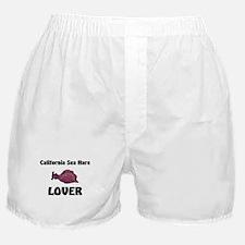 California Sea Hare Lover Boxer Shorts