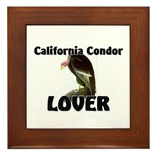 California Condor Lover Framed Tile