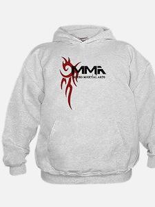 MMA Tribal Tattoo Logo Red Hoodie