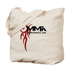 MMA Tribal Tattoo Logo Red Tote Bag