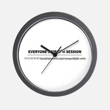 vi Session Wall Clock