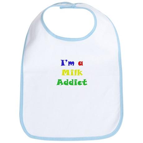 Milk Addict Bib