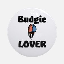 Budgie Lover Ornament (Round)