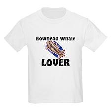 Bowhead Whale Lover Kids Light T-Shirt