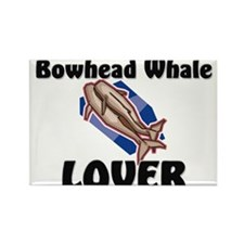 Bowhead Whale Lover Rectangle Magnet