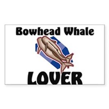 Bowhead Whale Lover Rectangle Sticker