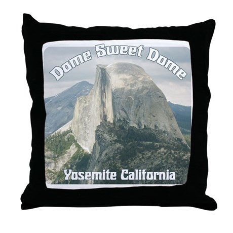 Dome sweet Dome Throw Pillow