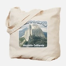I made it Yosemite Tote Bag