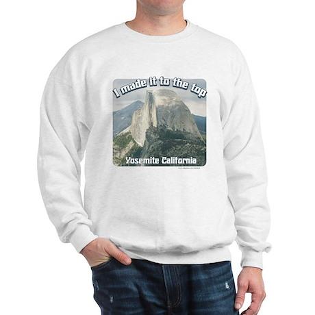 I made it Yosemite Sweatshirt