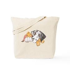 NH Bunny Puppy Tote Bag
