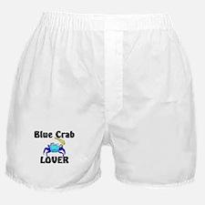 Blue Crab Lover Boxer Shorts