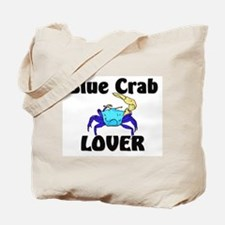 Blue Crab Lover Tote Bag