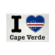 I love Cape Verde Rectangle Magnet