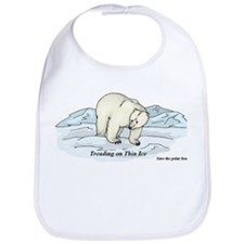 Save the Polar Bears Bib