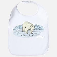 Save the Polar Bears Bib
