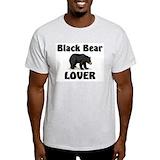 Black bears Mens Light T-shirts