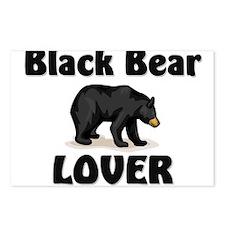 Black Bear Lover Postcards (Package of 8)