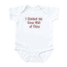 I Climbed Great Wall of China - Infant Creeper