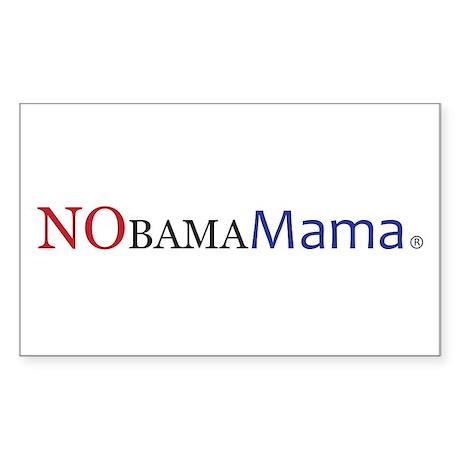 NObamaMama Rectangle Sticker